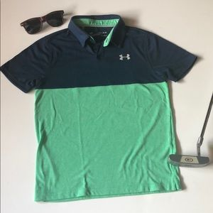 Youth Under Armour golf shirt